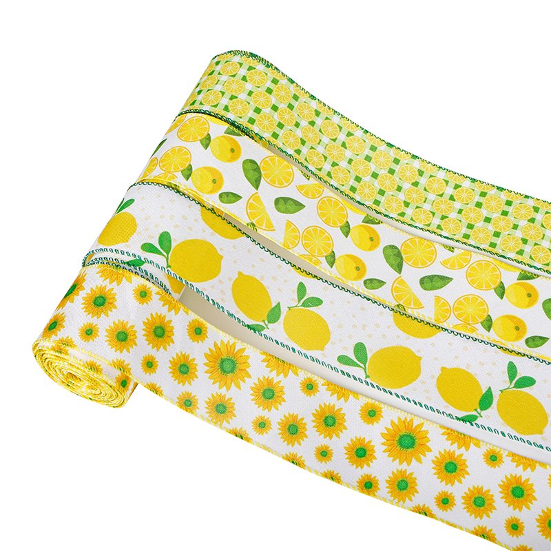 Fita de limão de verão, fita de arame limão, fita de serapilheira limão