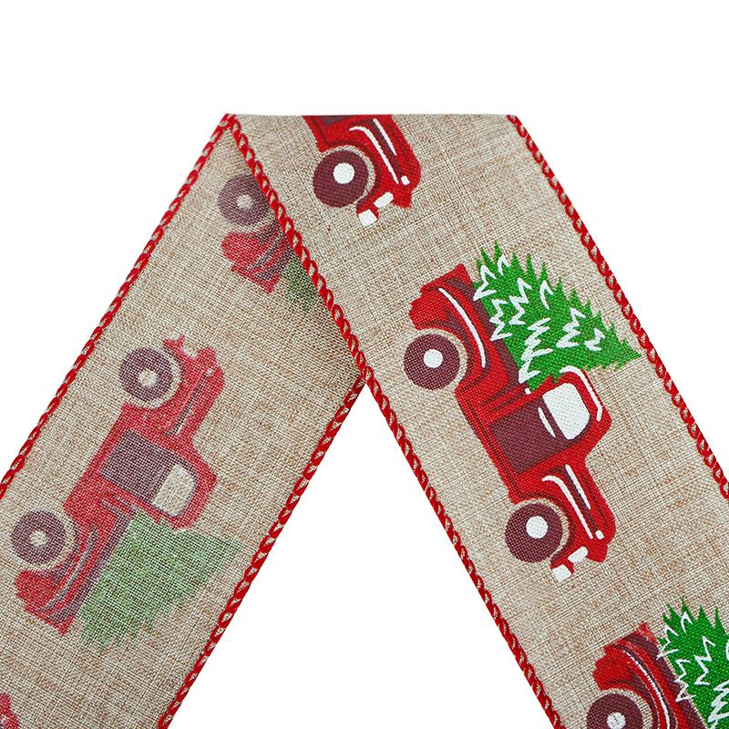 Nastro di Natale,Nastri di bordo cablati di Natale,Nastro di camion cablato