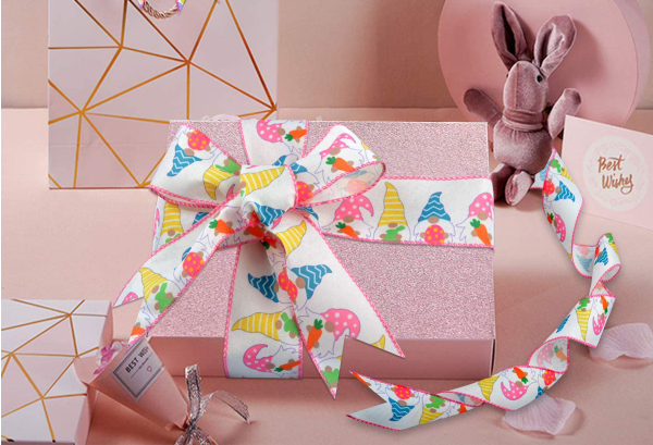Easter wired ribbon