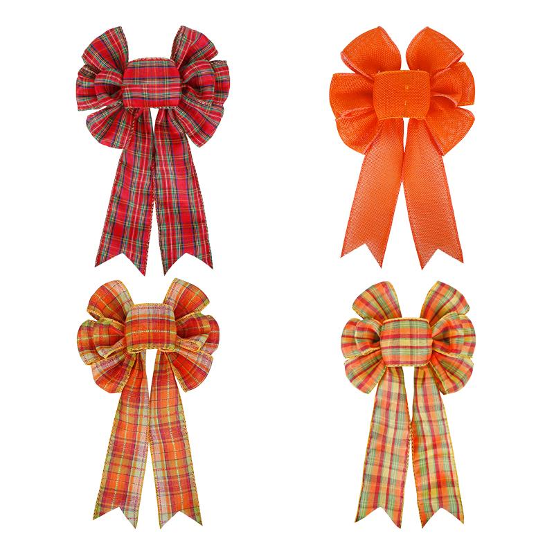 Thanksgiving ribbon bow