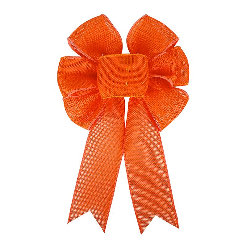 추수 감사절 화환 활 오렌지 화환 패브릭 활 농가 농장 홈 선물 포장 장식을위한 큰 바구니 장식