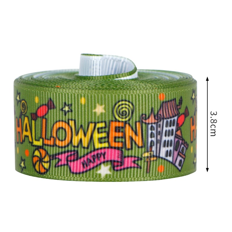 Halloween wired ribbon
