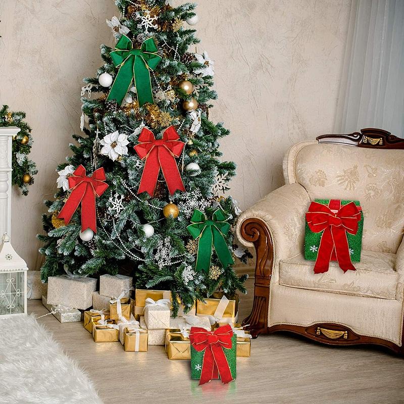 Christmas velvet ribbon