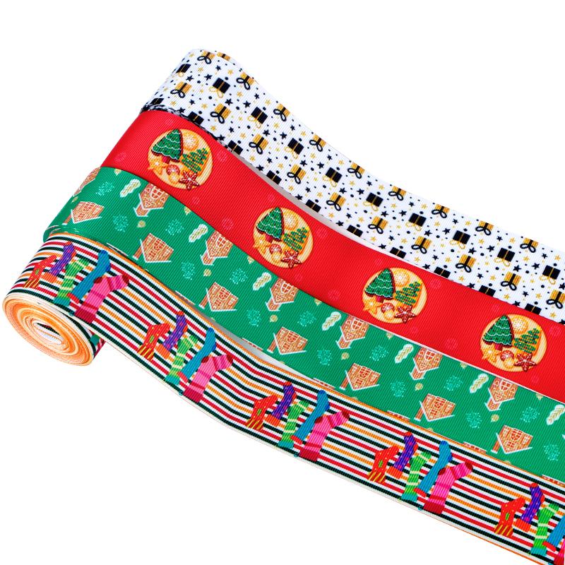 38mm christmas ribbon