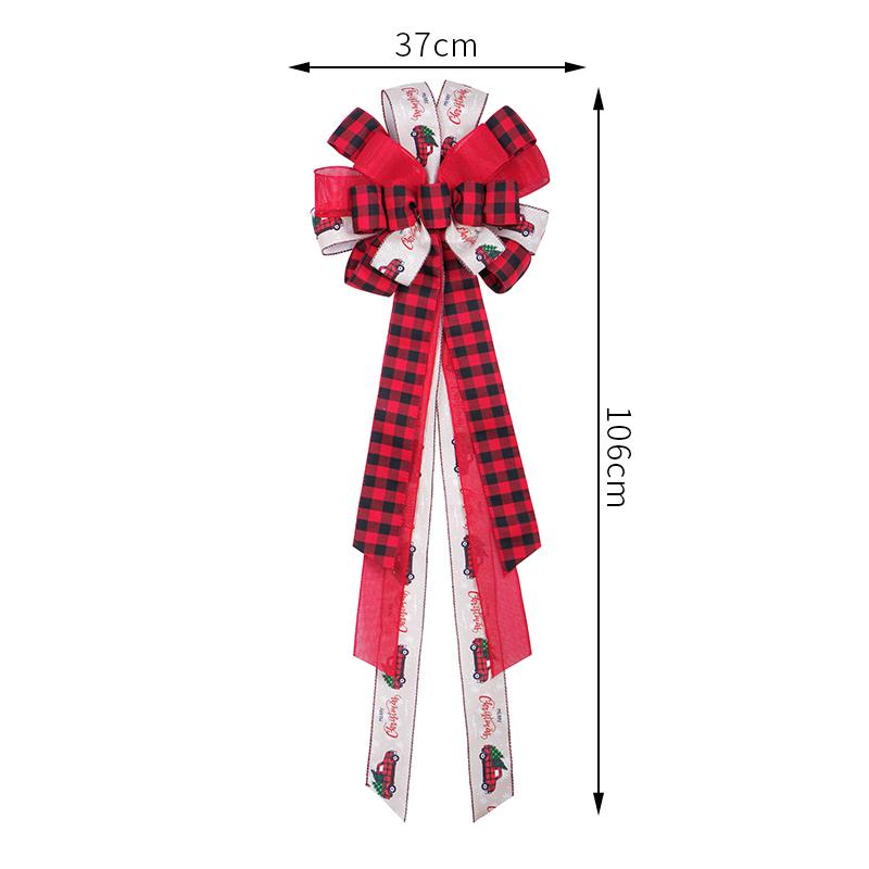 ribbon bow tree topper