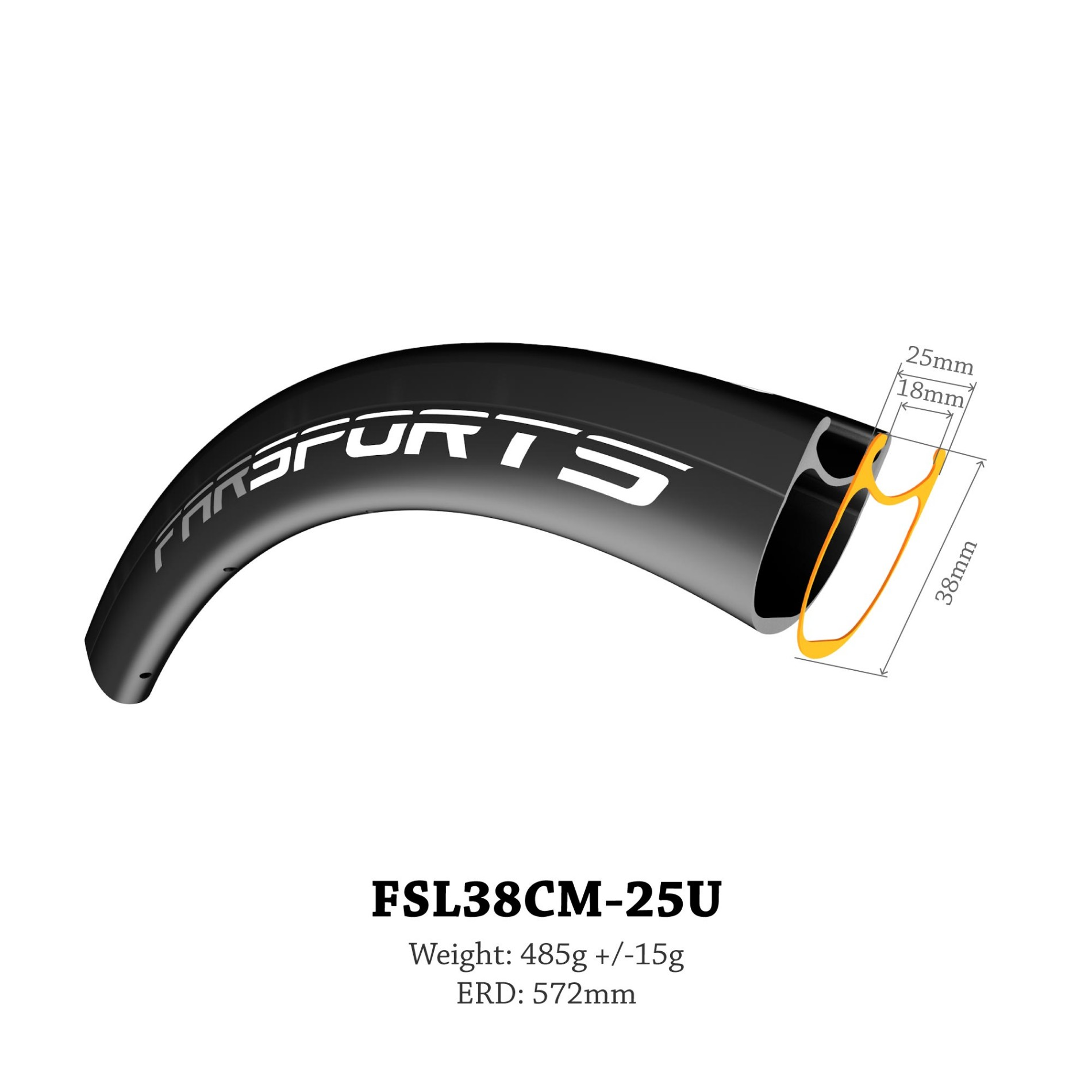 UCI Approved 38mm X 25mm Carbon Clincher With White Industry Hub Manufacturers, UCI Approved 38mm X 25mm Carbon Clincher With White Industry Hub Factory, Supply UCI Approved 38mm X 25mm Carbon Clincher With White Industry Hub