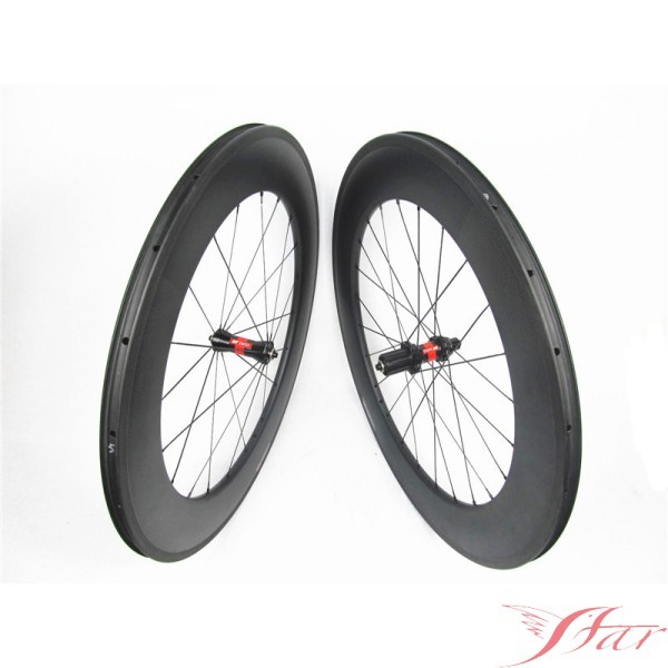 88mm Carbon Road Bicycle Wheels With DT Swiss 240S Hub