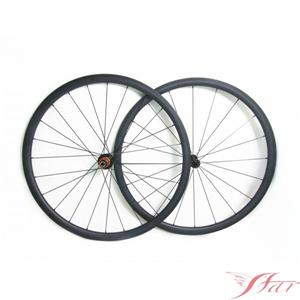 30mm Carbon Tubular Wheels With Edhub