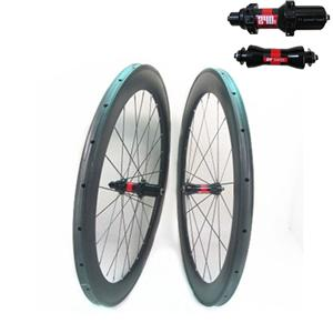 Tubular Road Bike Wheels 60mm X 25mm With DT240S Hub