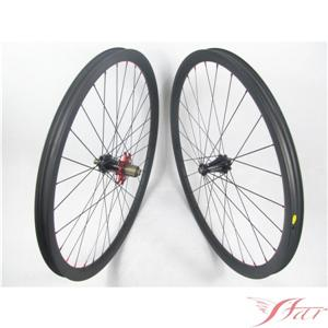 Light Weight 29er Carbon Wheels Mountain Bike Clincher With Extralite Disc Hub