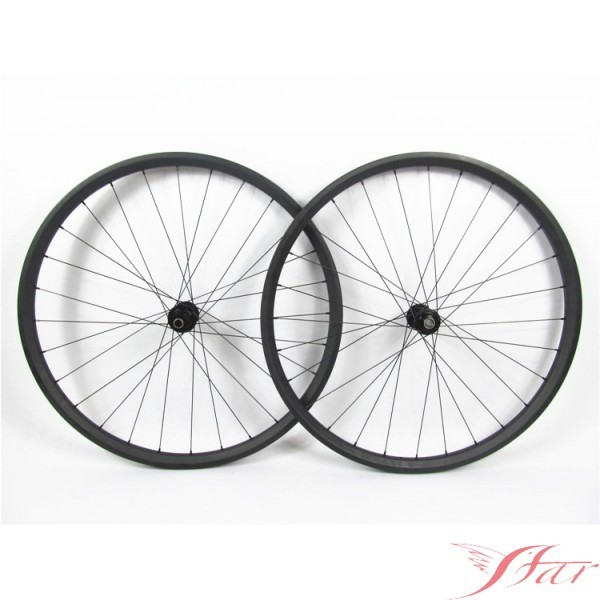 27.5er Carbon Wheels Clincher 30mmx30mm 28H/28H