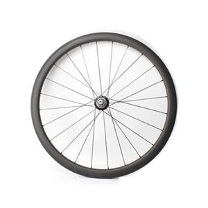 38mm X 23mm Carbon Clincher Wheels With White Inudustry T11 Hub