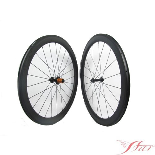 50mm X 23mm Carbon Clincher Wheels With Edhub