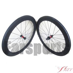 60mm Clincher Bicycle Wheelset With DT Swiss 240s Hub