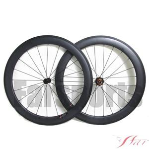 60mm X 25mm Carbon Clincher Wheels With Edhub