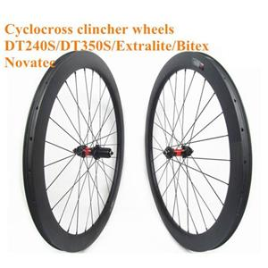 60mm Road Disc Carbon Wheels 25mm Wide Carbon Clincher