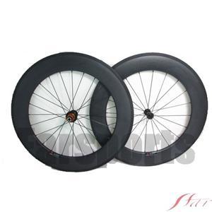 88mm X 23mm Carbon Clincher Wheels With Edhub