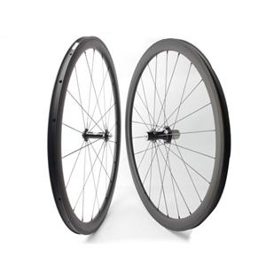Carbon Tubular Bike Wheel 20H/24H 700C With Carbon-TI Hub