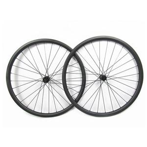 Tubular Disc Road Wheels With DT Swiss 350S Disc Hub Central Lock