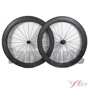 60mm Road Bike Wheels Tubular With Edhub