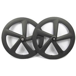 5 Spoke Carbon Wheel Clincher