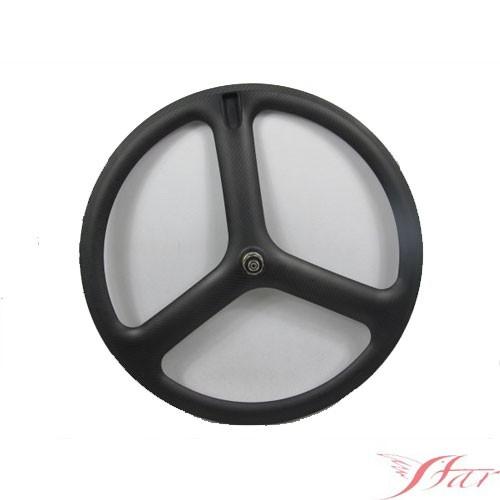 Three Spoke Carbon Tubular Wheel