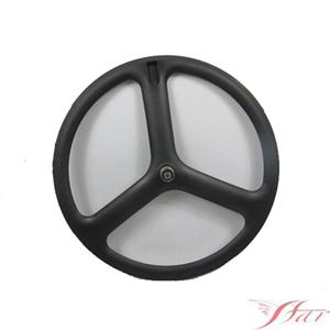 Three Spoke Carbon Tubular Wheel