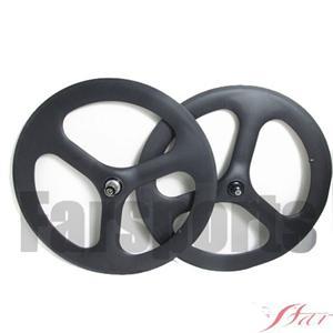 3 Spoke Wheel Clincher For Track
