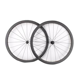 3K Matte Carbon fiber cycle wheel filament road bike carbon wheel set 38mm deep 25mm clincher