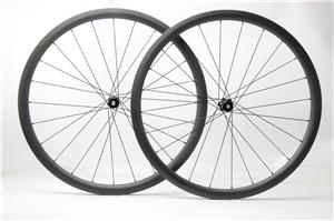 700C full carbon cyclocross wheelset