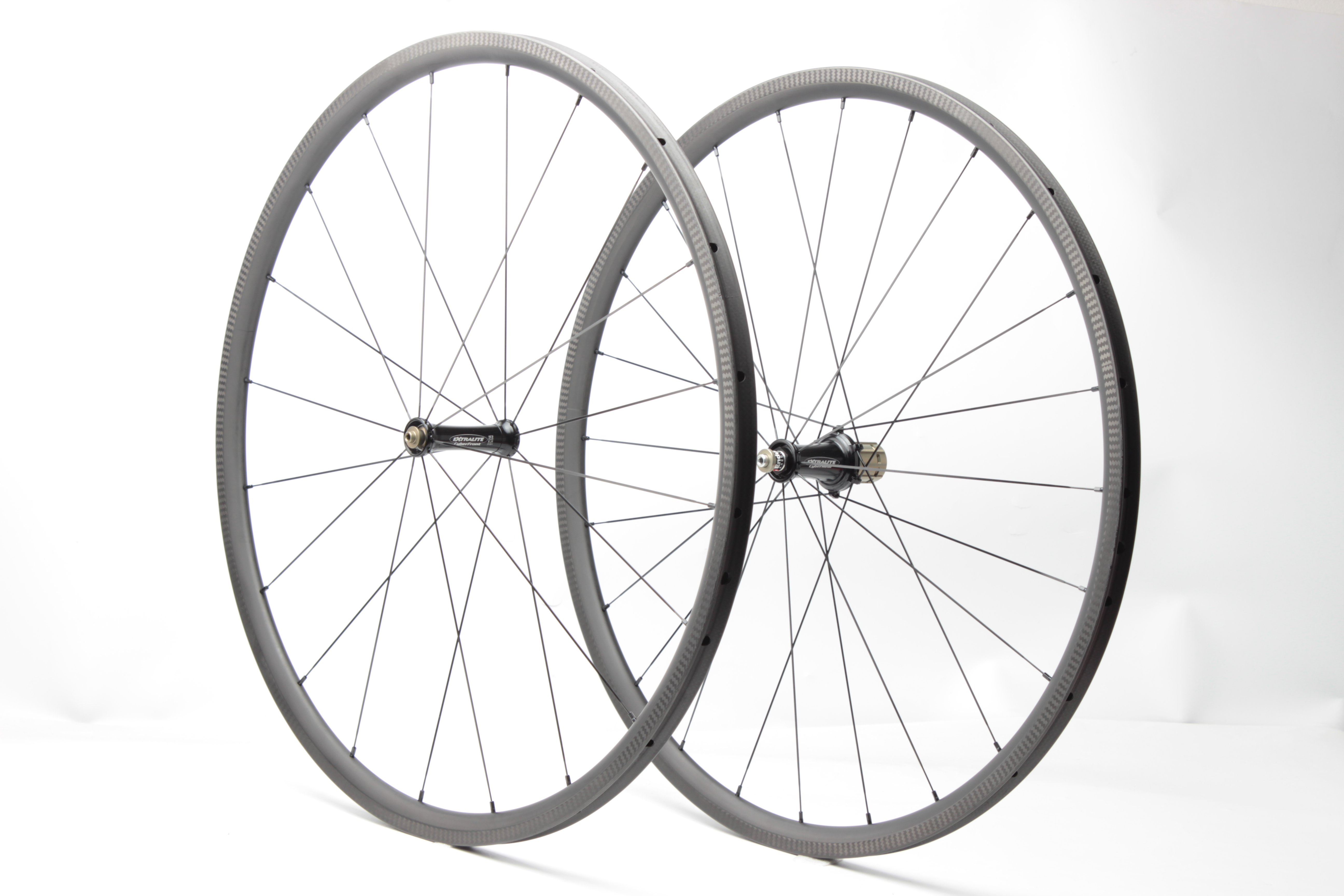 Far Sports 25mm Ultralite 810g tubular wheelset with Extralite hub+Sapim Super spoke!