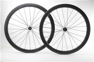 New arrival farsports carbon race cycling wheels 45mm deep 26mm wide tubeless bicycle carbon wheel