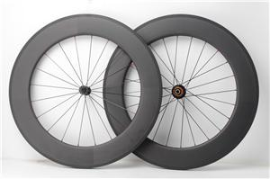 Chinese carbon wheels 700c Novatec road bicycle wheel 88mm clincher
