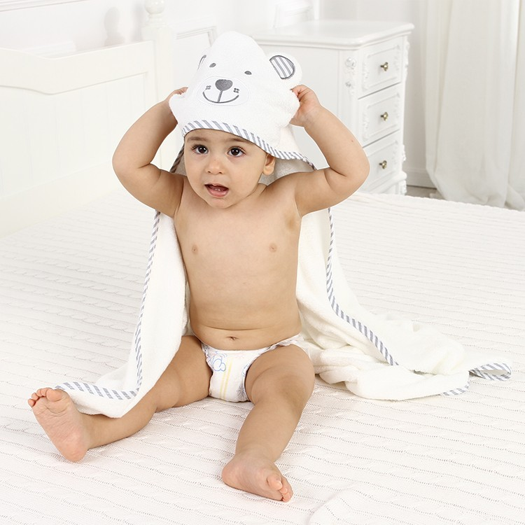 Bmboo hooded towel