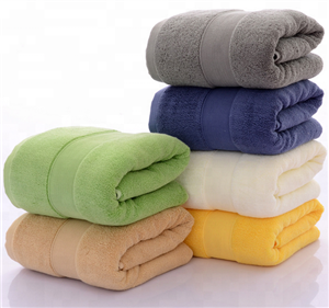 Colorful Cotton Hotel Towels