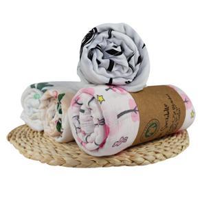 Organic Cotton Printed Baby Nursery Muslin Swaddle