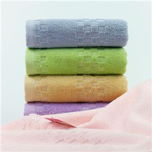 Cotton Fabric Stain Jacquard Gift Face towel