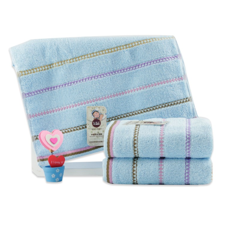 Jacquard Embroidery Pattern Home Cotton Face towel