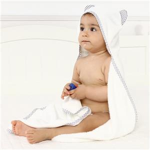 Hooded Bamboo Baby Bath Towel Washcloth