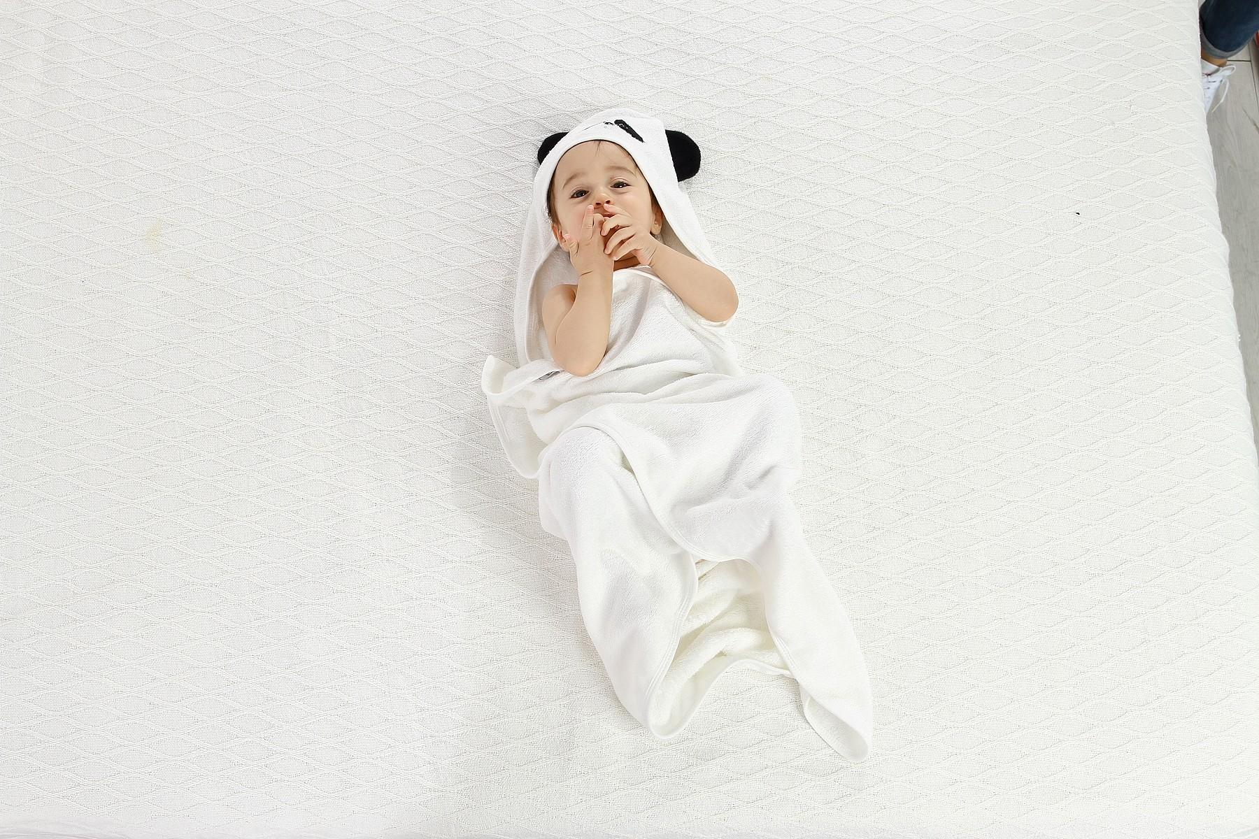 Baby Wrap Towel With Hood