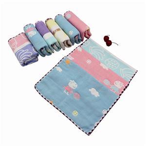 Cotton Gauze Baby Towel Beautiful Jacquard Cotton Face Towel