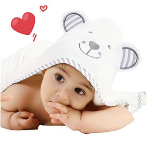 90*90cm Bamboo baby hooded towel