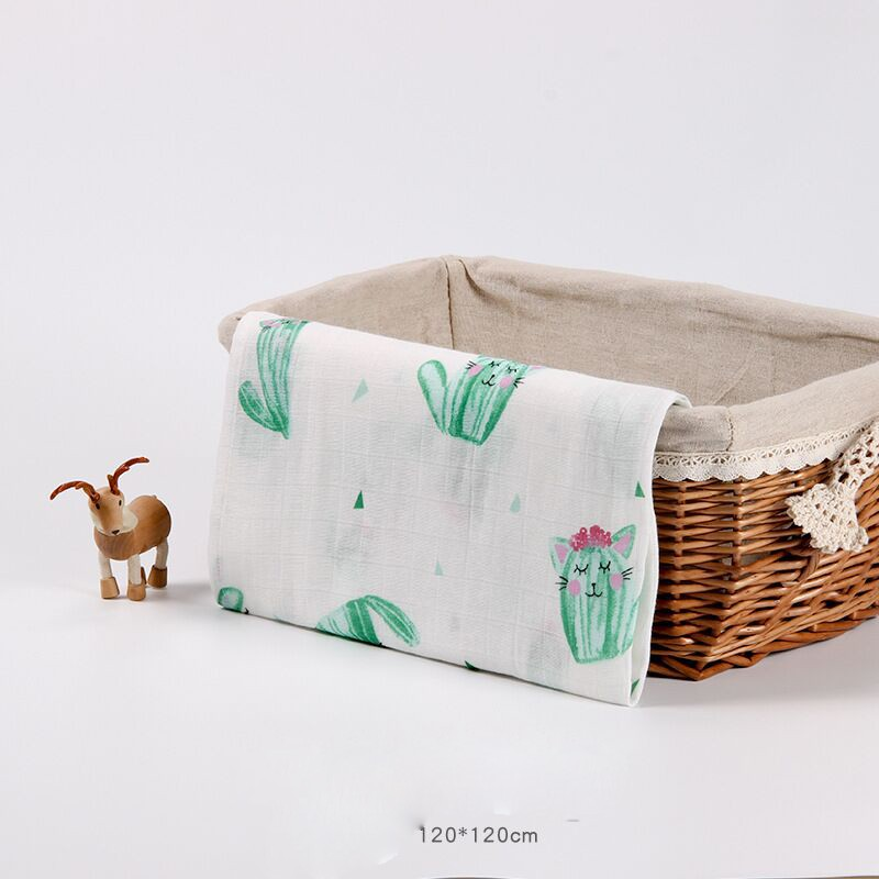 Cotton baby swaddle blanket