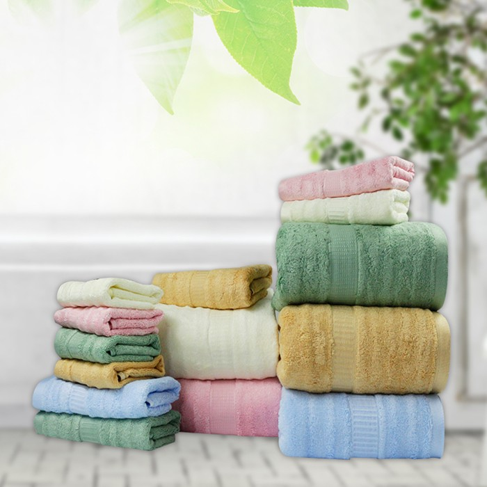 60% bamboo and 40% cotton bath towel