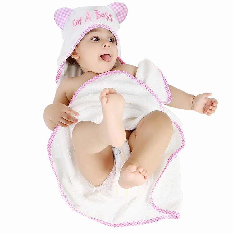 cotton baby bib