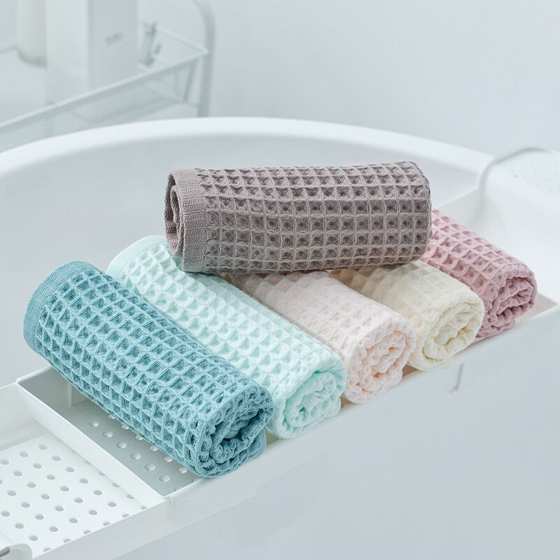 high quality 100% cotton waffle sport towel weave face towel hair towel Manufacturers, high quality 100% cotton waffle sport towel weave face towel hair towel Factory, Supply high quality 100% cotton waffle sport towel weave face towel hair towel