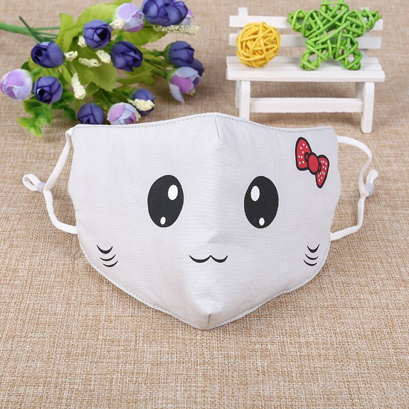 Wholesale Printing Cotton Child Face Mask