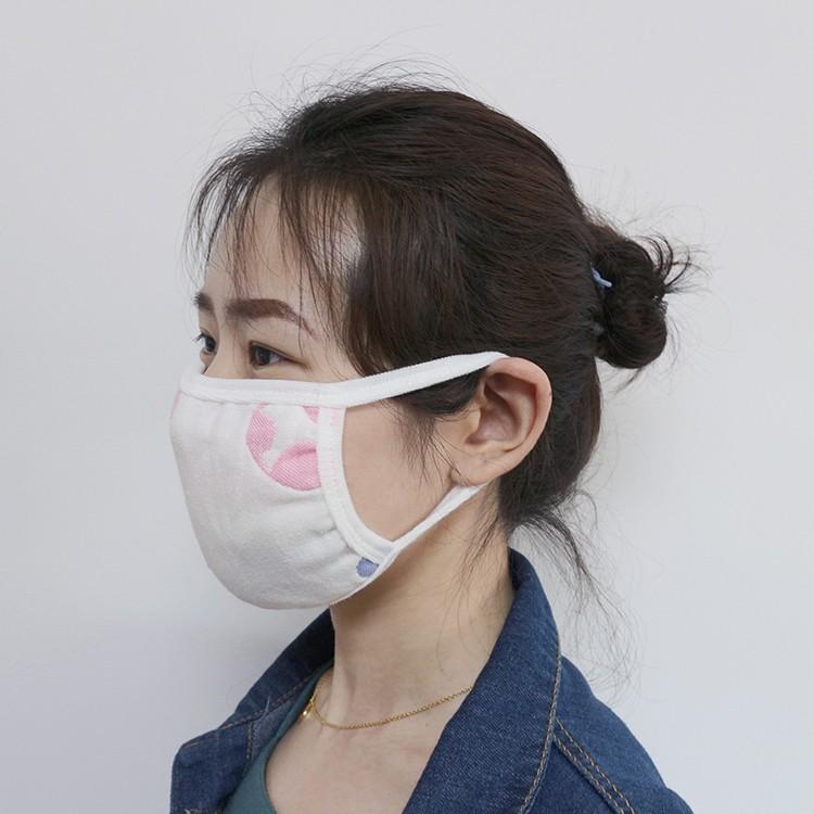Cotton gauze dust face mask