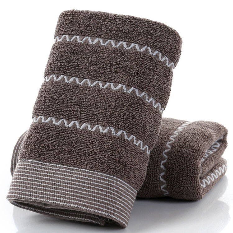 Thick cotton towel with jacquard weave pattern Manufacturers, Thick cotton towel with jacquard weave pattern Factory, Supply Thick cotton towel with jacquard weave pattern