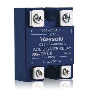 KS34 SSR面板安装 - 交流输出